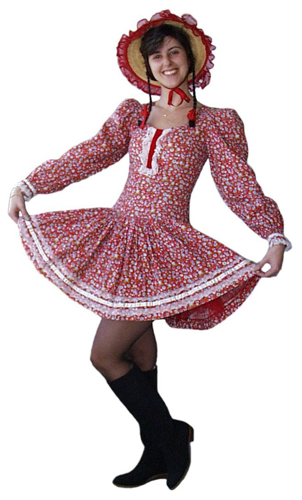 Onde comprar vestido de festa junina