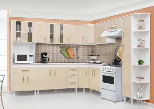 Modelos de arm rios para cozinhas planejadas jet dicas - Modelos de armarios ...