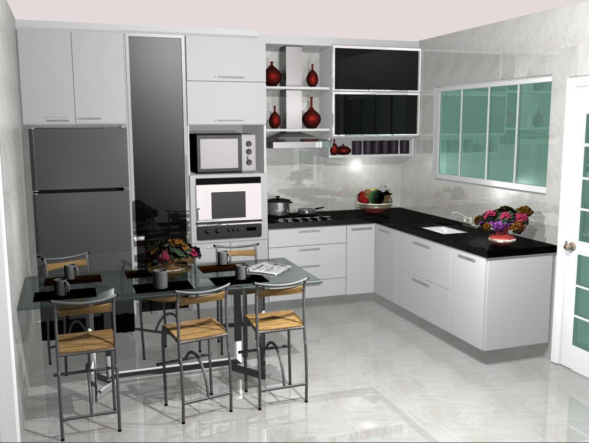 Confira Dicas De Cozinha Planejada Pequena 24 Configura Es  ~ Armarios De Cozinha Pequeno
