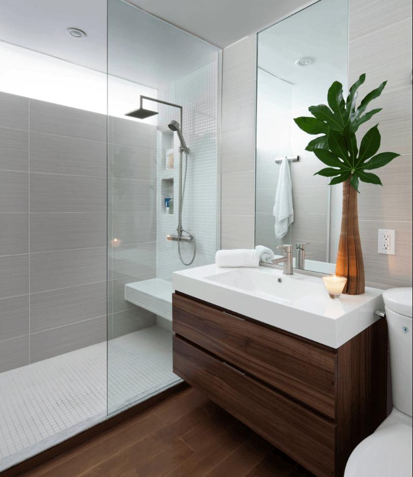Adesivo Imitando Azulejo Para Cozinha ~ Decoraç u00e3o de banheiro moderno, móveis e Revestimentos u2013 Jet Dicas