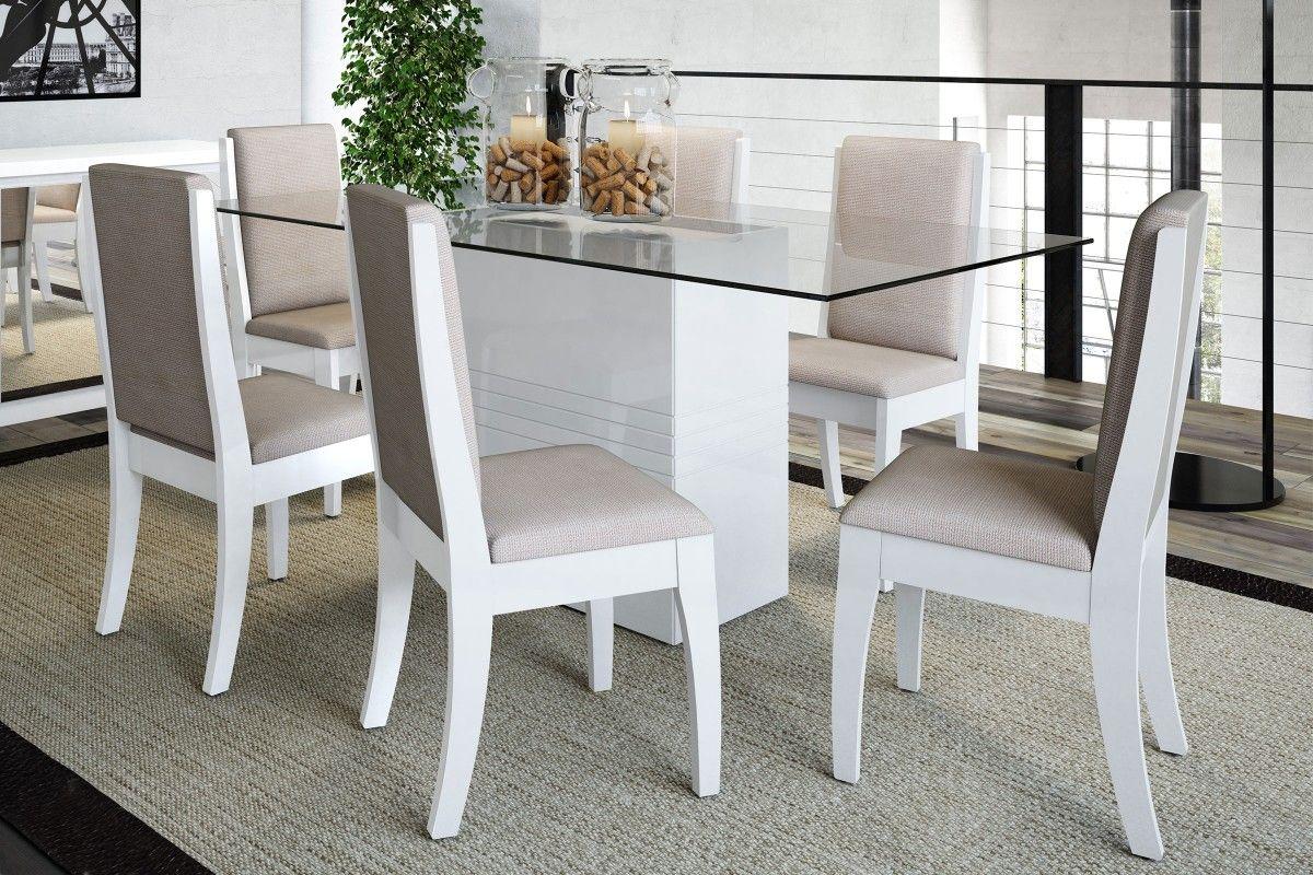 Dicas De Mesa Para Sala De Jantar De Vidro Modelos Lindos Jet Dicas -> Cadeiras Para Sala De Jantar Acrilico