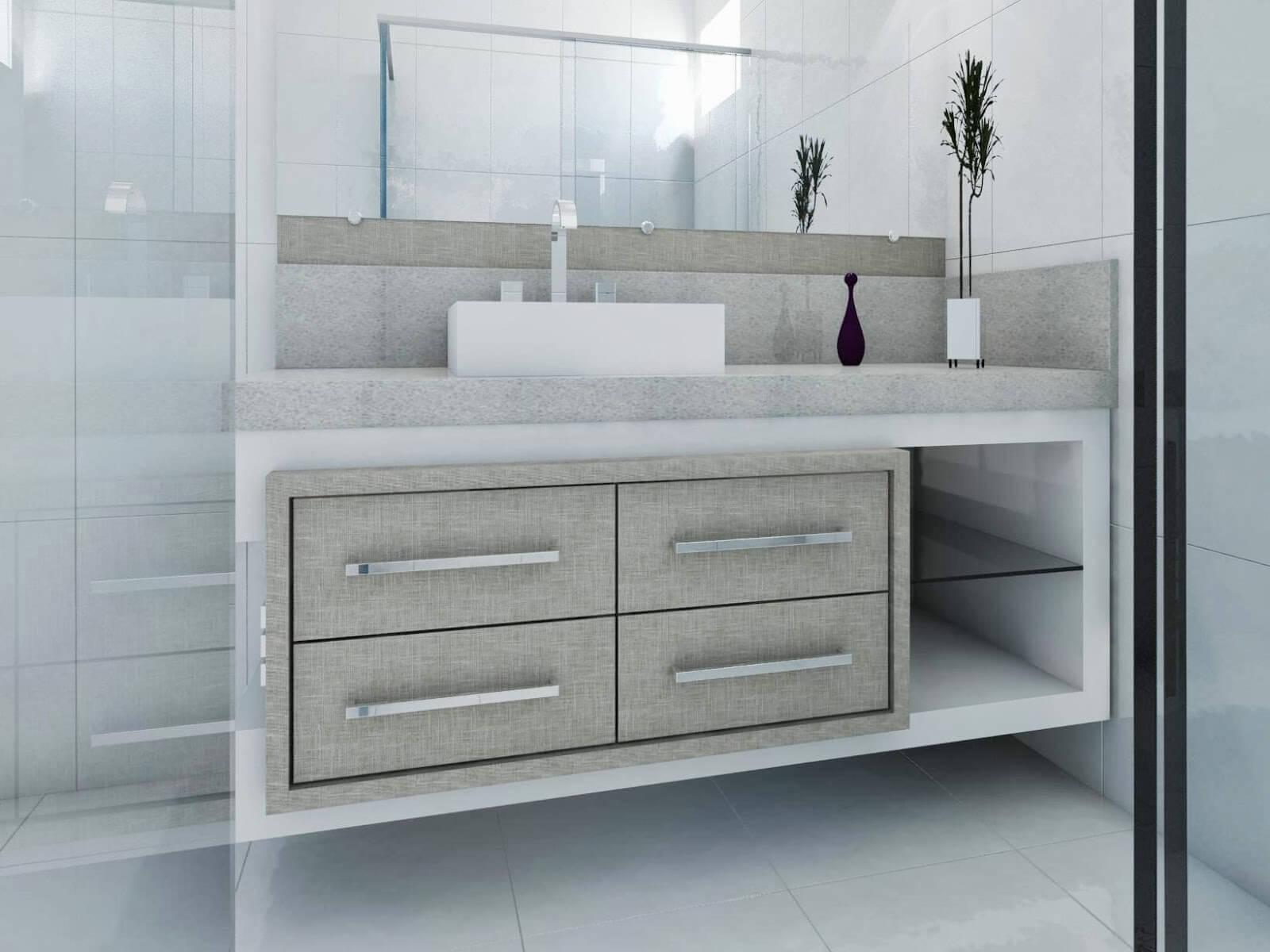 Veja dicas de decora o e m veis para banheiros modernos for Modelos de armarios modernos