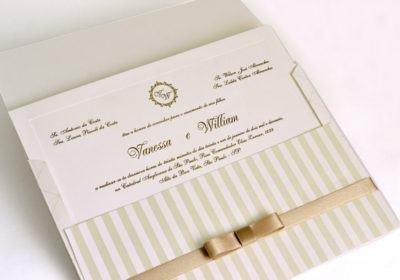 convites de casamento discretos