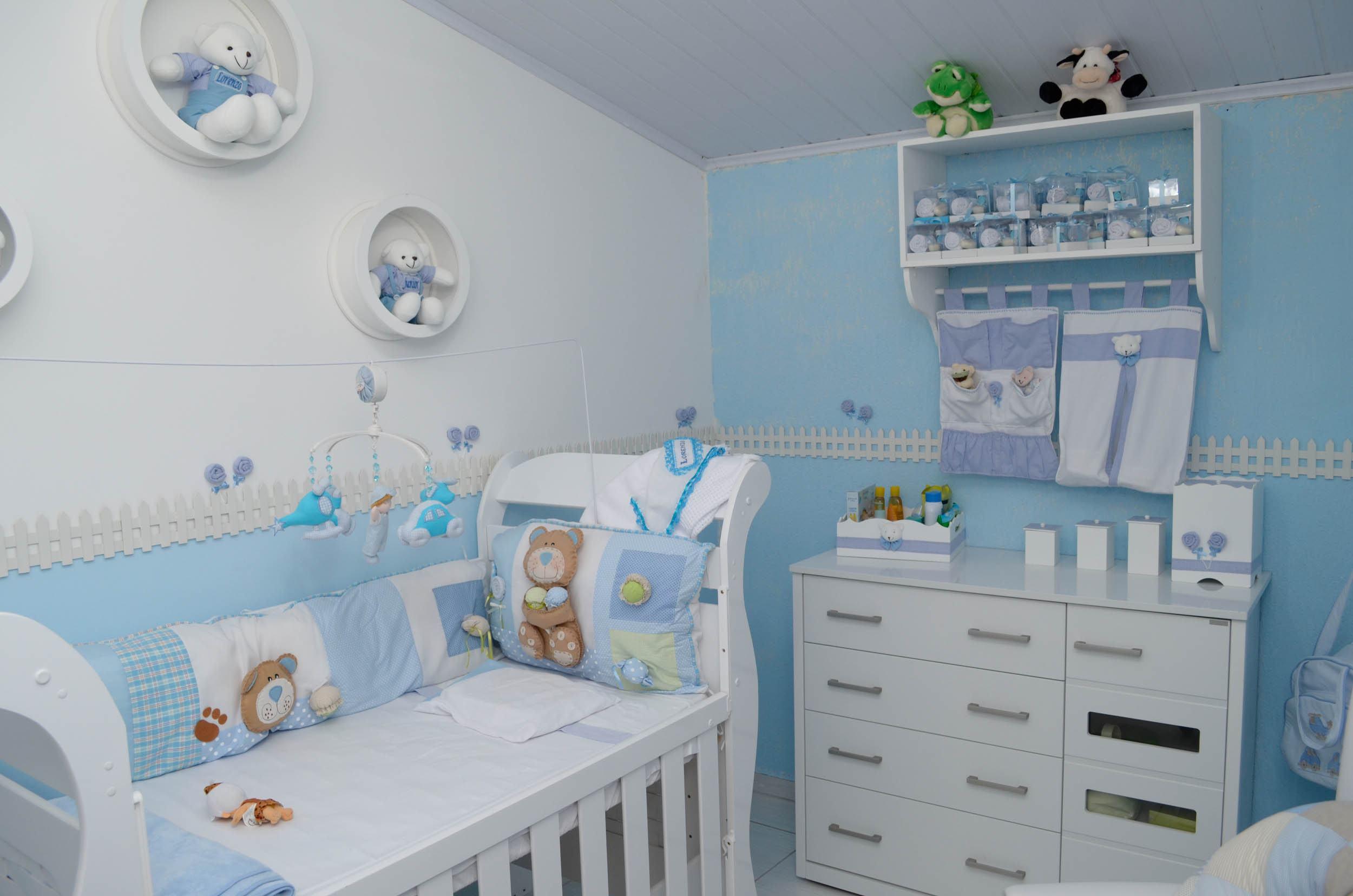 Decoração de quarto de bebê linda  Jet Dicas
