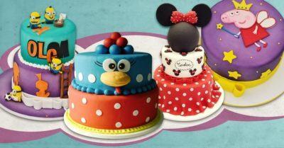 fotos de bolos de aniversario infantil
