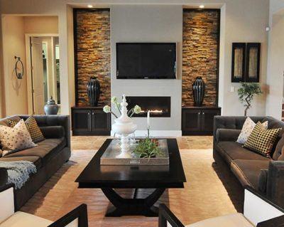 fotos de sala de estar decorada