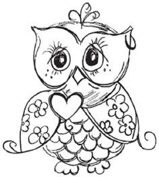 Desenhos De Corujas Para Pintar E Imprimir Para Crianças