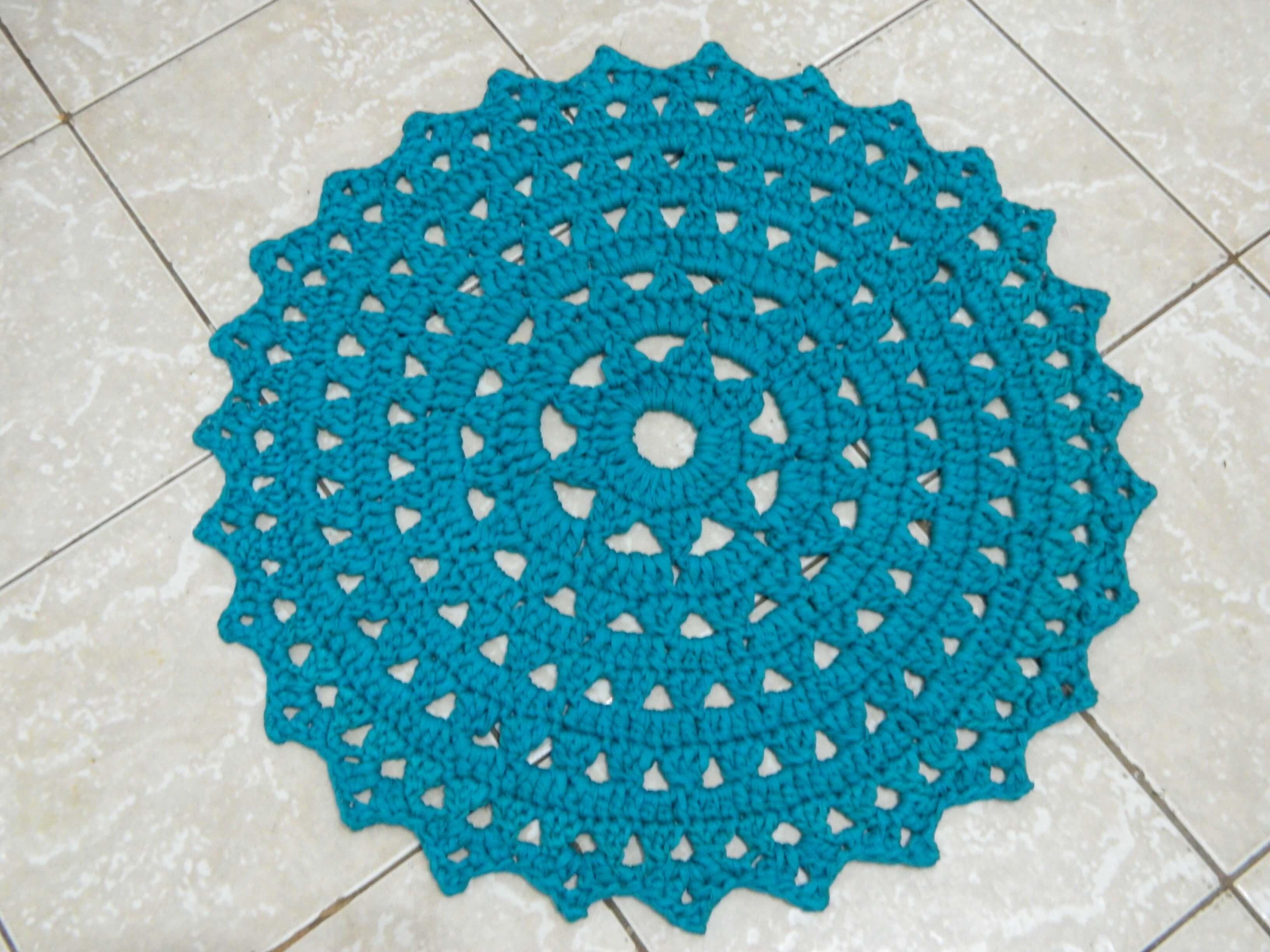 Gr Fico Tapete De Croch Redondo Modelos E Passo A Passo Jet Dicas -> Fotos De Tapete De Croche