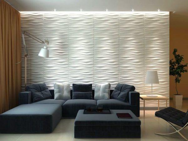Revestimentos de GESSO 3D para paredes ( Decoração )