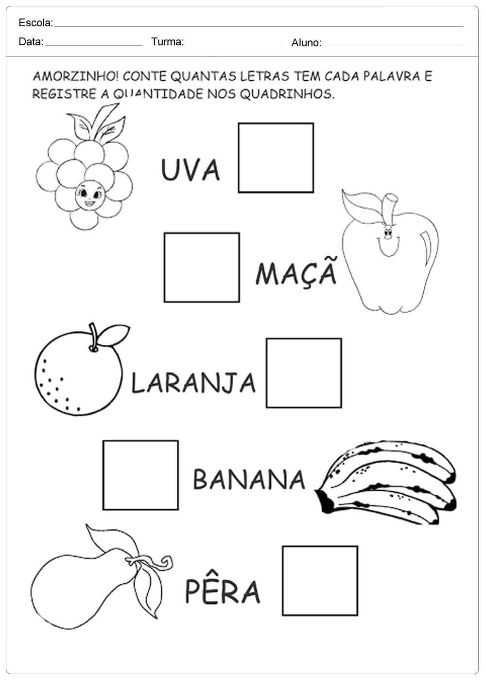 Preferência Atividades sobre Alimentação Saudável para ensino Fundamental  WD48