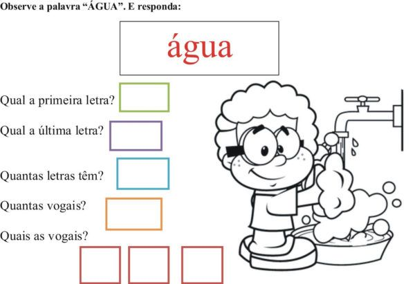 Atividades sobre a ÁGUA entenda a sua importância e sua formação