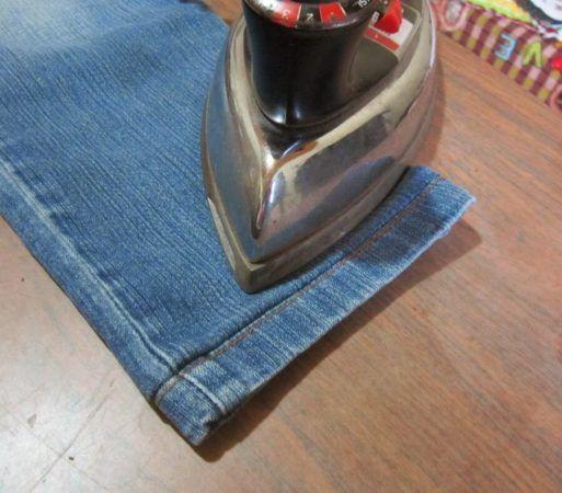 Como fazer Barra de Calça jeans Original ( Passo a passo )