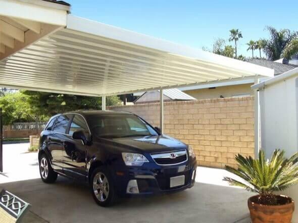 Cobertura de Garagem Sugestões para abrigar o carro com estilo