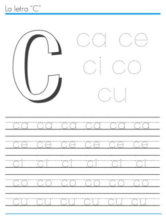 Atividades Sílabas com C ( Ca co Cu ) alfabetizando