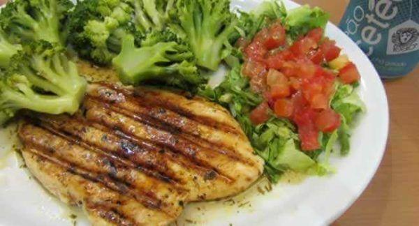 Dieta da Carne e Salada Seca 4 kg em 10 dias, Cardápio