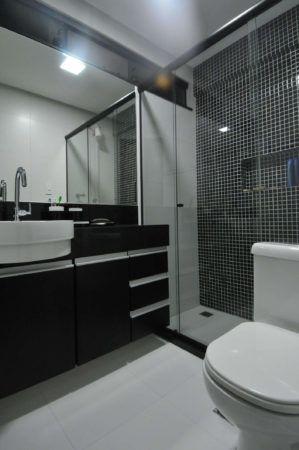 Banheiro Moderno estilos, cores, Acabamento